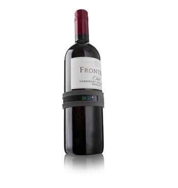 Vacu Vin - Wein-Thermometer grau