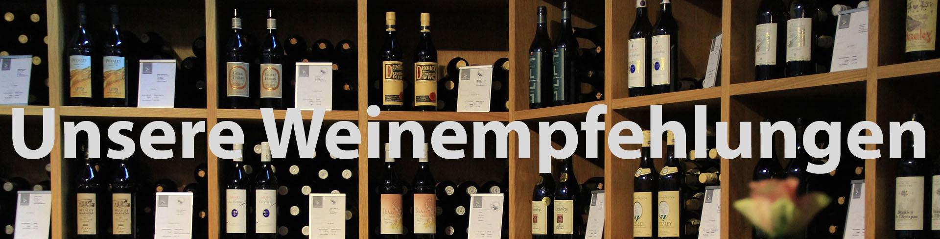 Weinflaschen-Empfehlungen