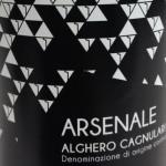 """Vigne Rada - """"Arsenale"""" Cagnulari Alghero DOC"""