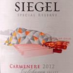 Vina Siegel – Crucero Special Reserve Carmenere